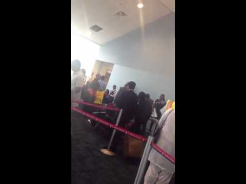 Rude Trini Immigration Officers clash with Guyanese passengers