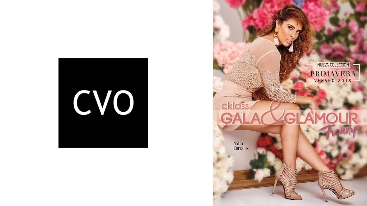 ca423cc0068 Catálogo Cklass Gala   Glamour Primavera Verano 2018 - YouTube
