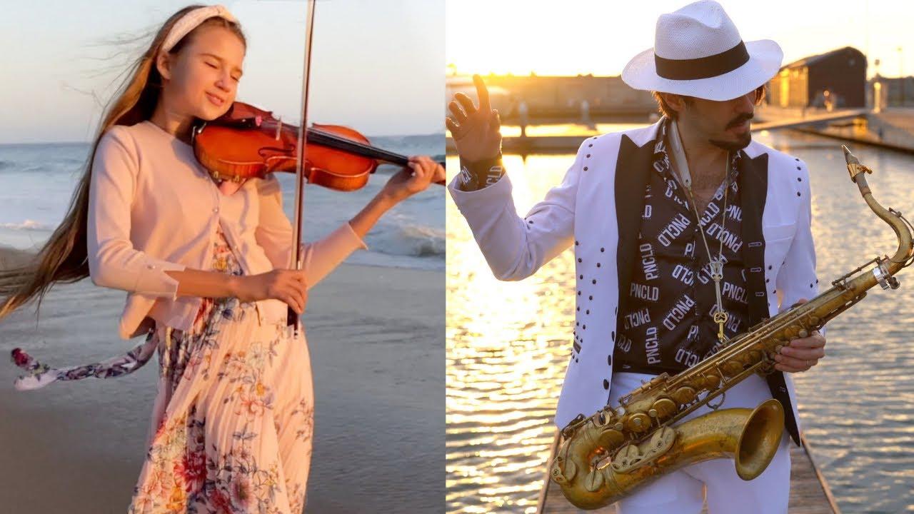 LAMBADA 2021💃🌴 Daniele Vitale & Karolina Protsenko | Sax & Violin