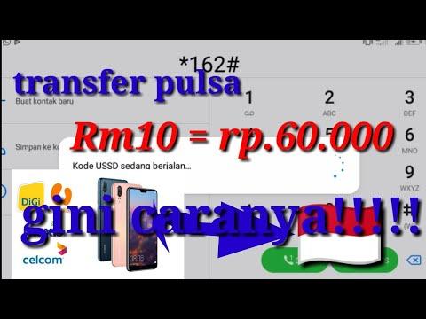 Trick Digi Celcom Maxis Umobile Transfer Pulsa Ke Indonesia Terbaru 2020 Youtube