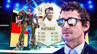 OPTIMUS PRIME MATTHAUS! 94 PRIME ICON MOMENTS MATTHAUS PLAYER REVIEW! FIFA 19 Ultimate Team
