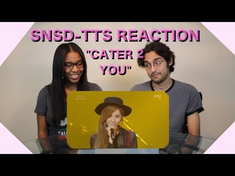 [Non-Kpop Reaction] 소녀시대-태티서(Girl's Generation-TTS) - Cater 2 U