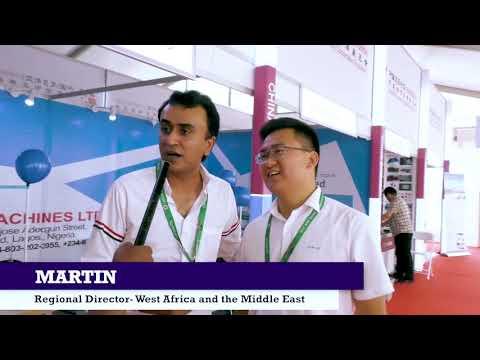 Star Sewing Machines at the 2018 Lagos International Trade Fair