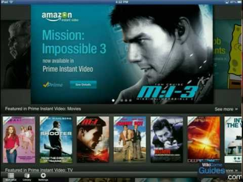 Premature Evaluations - First Impressions - Amazon Instant Video iPad App | WikiGameGuides