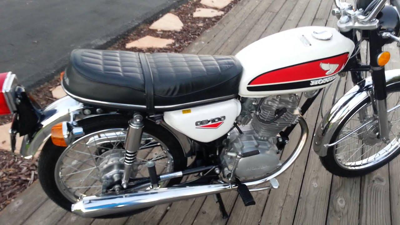 Restored 1972 Honda CB100