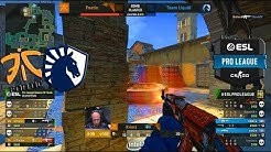 EPIC QUARTER-FINAL!! - fnatic vs Liquid - ESL Pro League S10 Finals - CS:GO