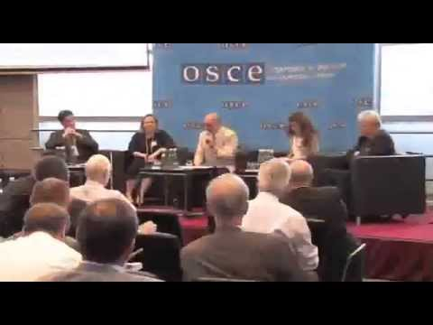 OSCE Security Days 2013, featuring ELN Chair Des Browne