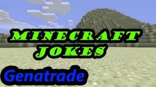 Minecraft. Funny jokes in Minecraft.