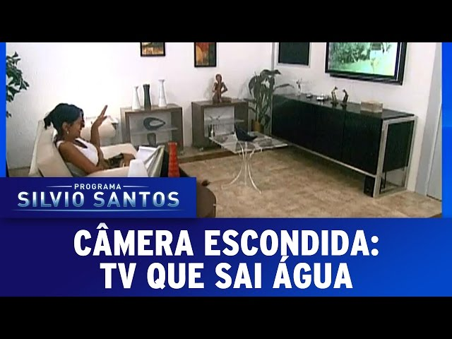 Câmera Escondida (14/08/16) - TV que sai água