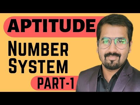 Number System Part-1 Explained In Hindi L Aptitude Course