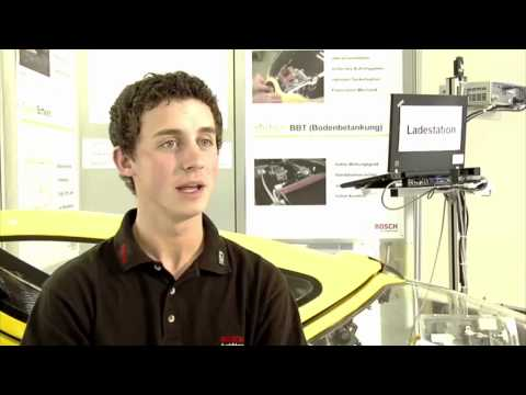 Insights into the apprenticeship with the Robert Bosch GmbH