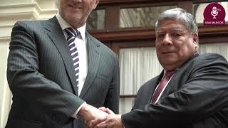 Tema: Rector y alcalde de Lima buscan consenso para reconstrucción del cerco perimétrico