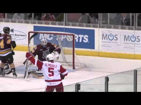 1-31-14 Grand Rapids Griffins vs. Chicago Wolves Post Game Highlights