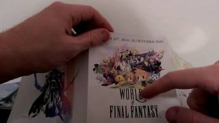 UNBOXING: Final Fantasy XV Deluxe Edition【PS4】