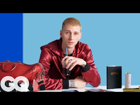 10 Things Machine Gun Kelly Can't Live Without | GQ