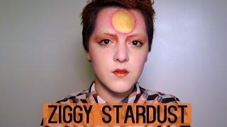 David Bowie as Ziggy Stardust tutorial | Laura Neuzeth