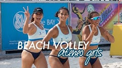 UAAP Beach Volleyball - Jules, Ponggay, Erika | Ateneo Lady Eagles