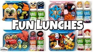 Fun Themed Lunches 🍎 5 NEW Lunch Ideas