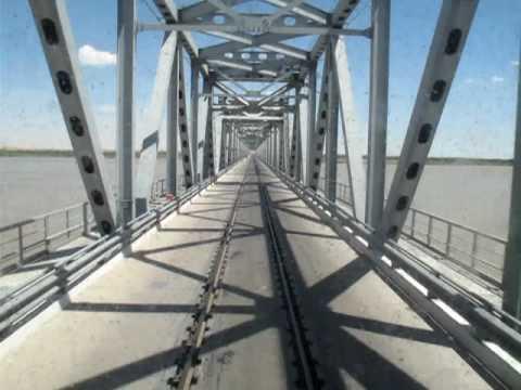 Uzbekistan Railways - Amu Darya River