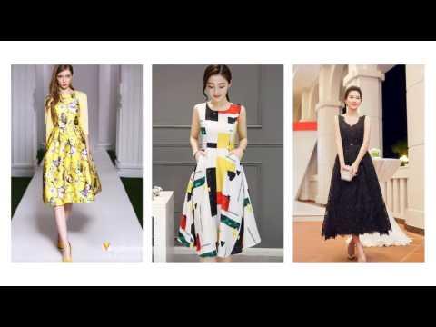 Top 100 Mẫu váy đầm xòe phồng đẹp thời trang cho các bạn nữ