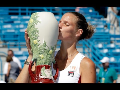 2016 Western & Southern Open Final WTA Highlights | Karolina Pliskova vs Angelique Kerber