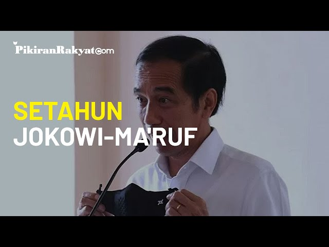 Setahun Jokowi-Ma'ruf, Bantuan Sosial Telah Banyak Digelontorkan Pemerintah