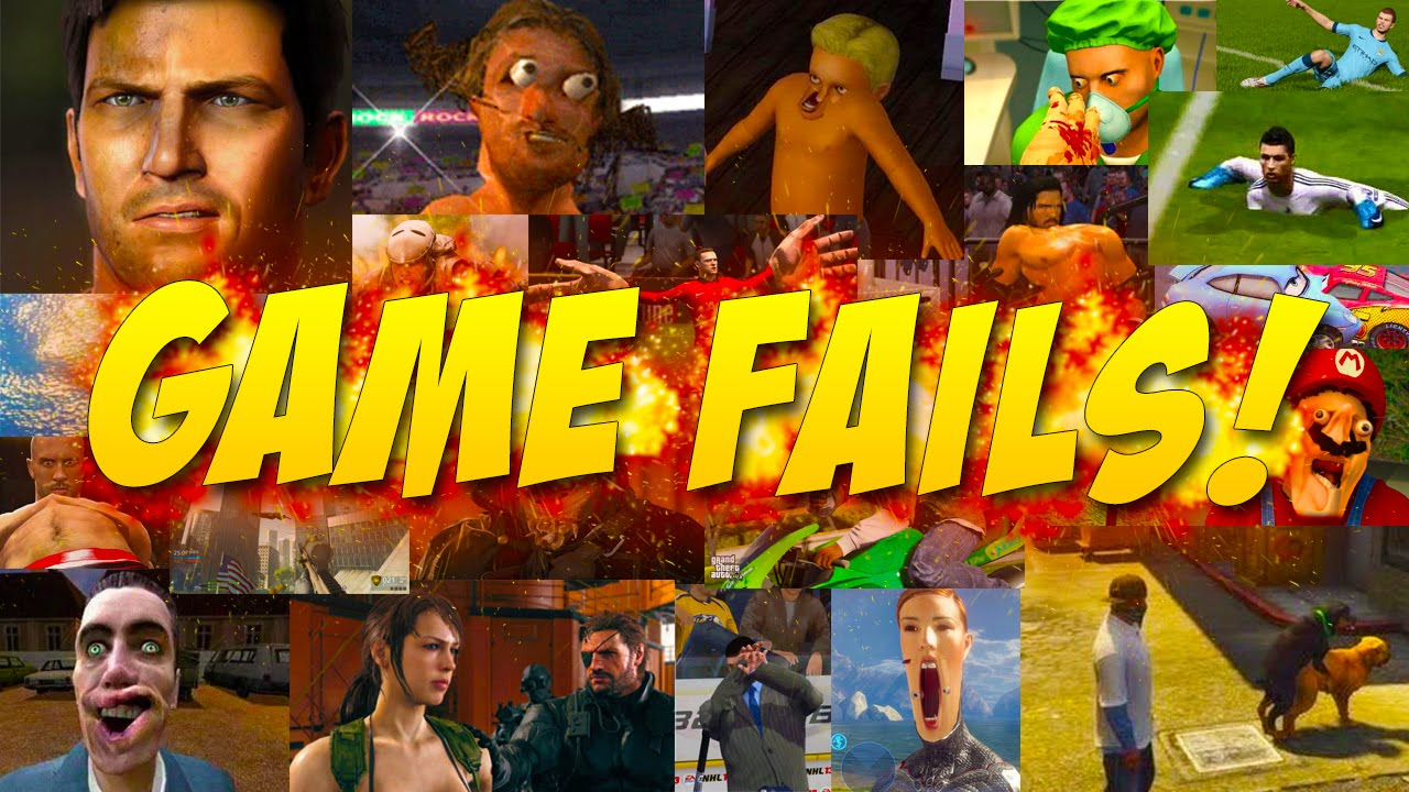 BEST GAME FAILS COMPILATION! (Game Fails #100)