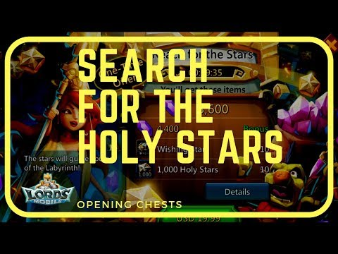 Lords Mobile: Search For HolyStars (Opening Different Chests)