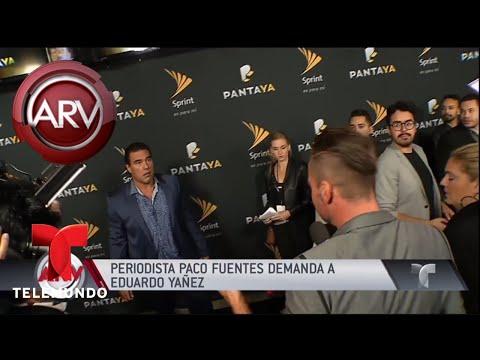 Paco Fuentes demandó a Eduardo Yáñez | Al Rojo Vivo | Telemundo