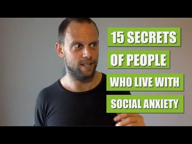 15 Secrets Of People Who Live With Social Anxiety |🔥