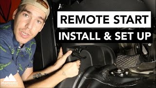 SPRINTER VAN REMOTE START | Install & Set Up | High Idle Auto Start | VANLIFE