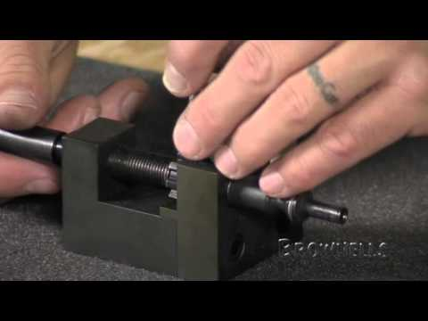 Brownells - Proper Bolt Disassembly & Cleaning With Our Ejector Tool
