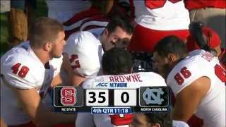 2014.11.29 NC State Wolfpack at North Carolina Tar Heels Football