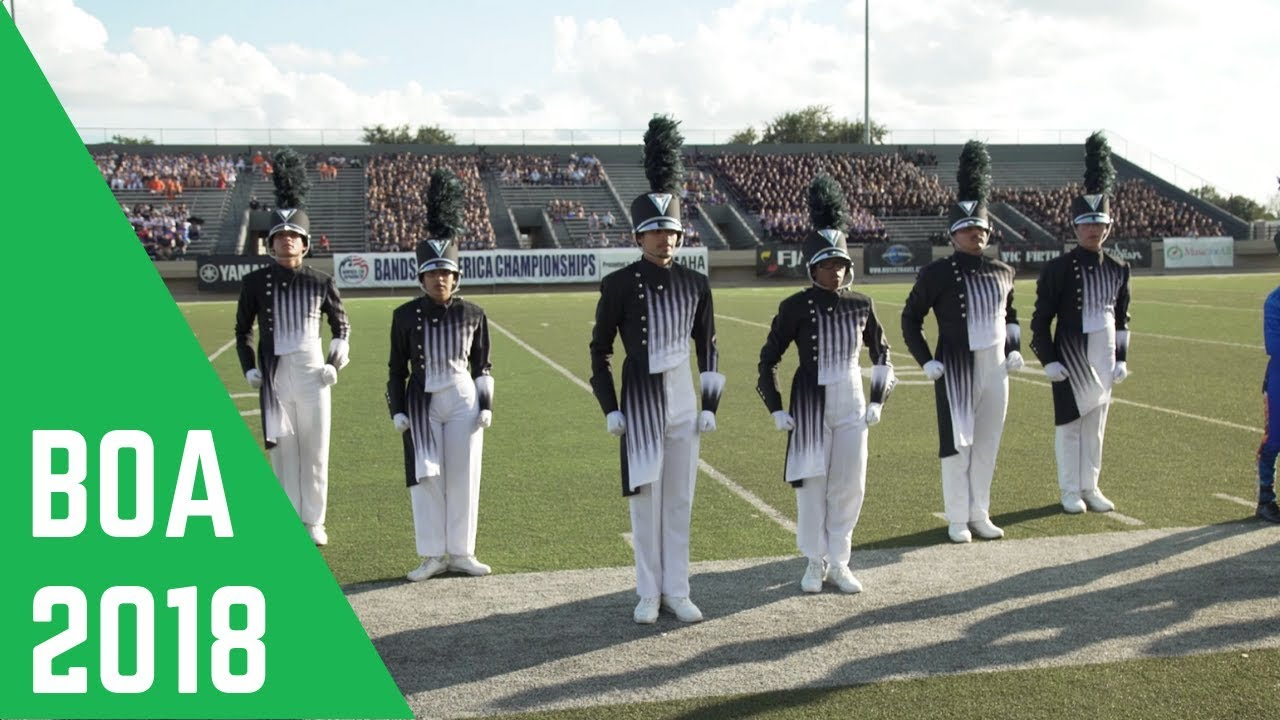 2018 Marching Band Salutes: BOA Dallas