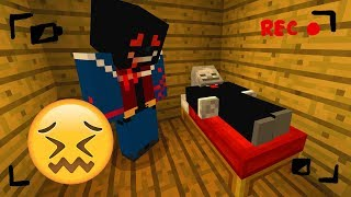 Do NOT Record Yourself Sleeping in Minecraft! (TERRIFYING)