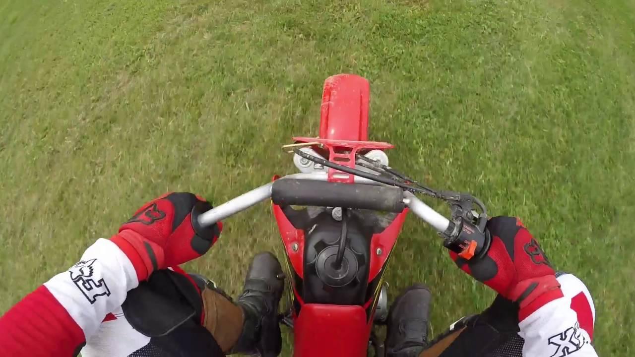 Honda 50cc Dirt Bike Youtube