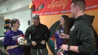 Andy Mineo Interview in Omaha, NE - Backstage Entertainment