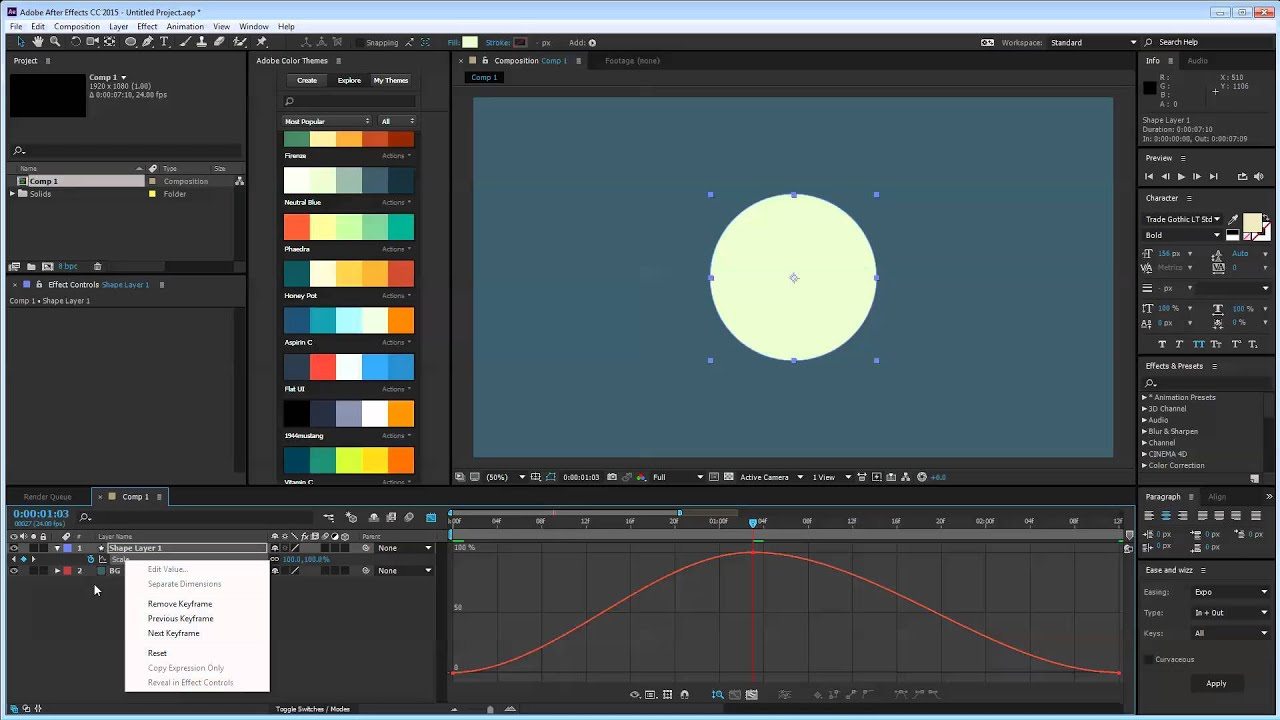 Week 7 - Graph Editor Overview