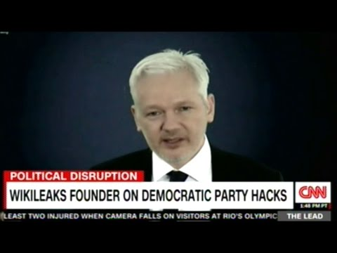 MSM Accuses Juliann Assange Of Trying To Sway The Election By Releasing Hillary Clinton Emails