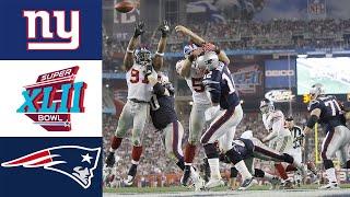 Giants vs Patriots Super Bowl XLII