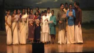 """KCS Onam Mela 09 - """"Poovili Poovili Ponnonamayi"""" Onam group song"""