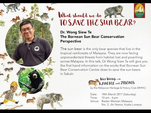 MHHC Wild Wildlife with Kanchil and Friends - Dr Wong Siew Te