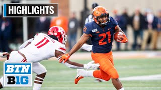 Highlights: Brown Runs in 2 TDs in Win | Rutgers at Illinois | Nov. 2, 2019