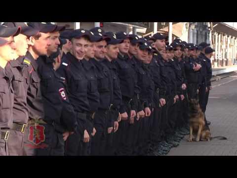 Сводный отряд Красноярской полиции отравился в служебную командировку