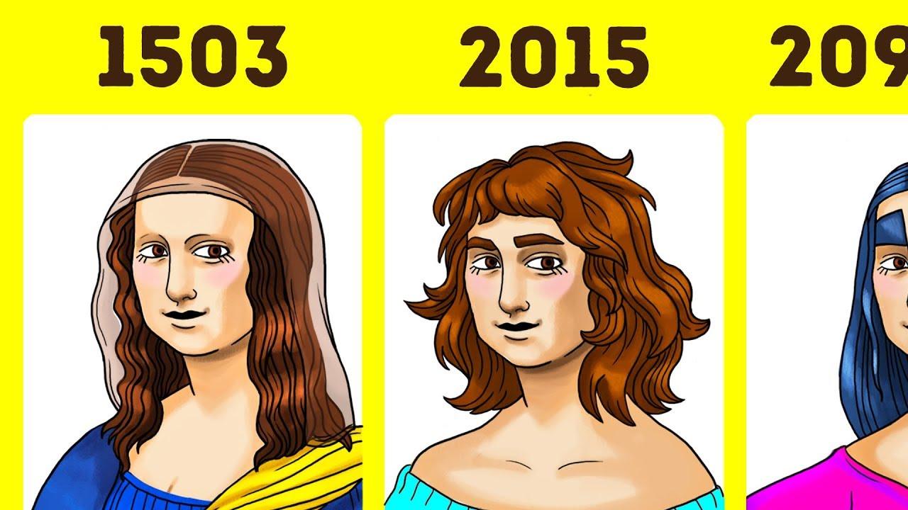 Kızlar Tarih Boyunca Ne Kadar Değişti?