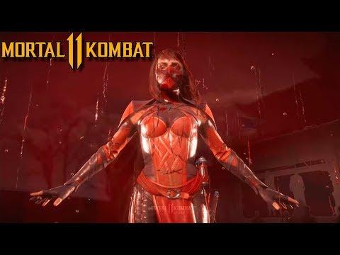 Играем за Скарлет Mortal Kombat 11! МК11 Все Фаталити и Бруталити за Скарлет