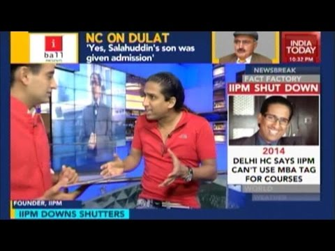 Newsroom: Arindam Chaudhuri On IIPM Shutdown