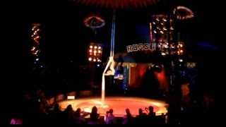 Aerial Silks 'Chandelier' Performance