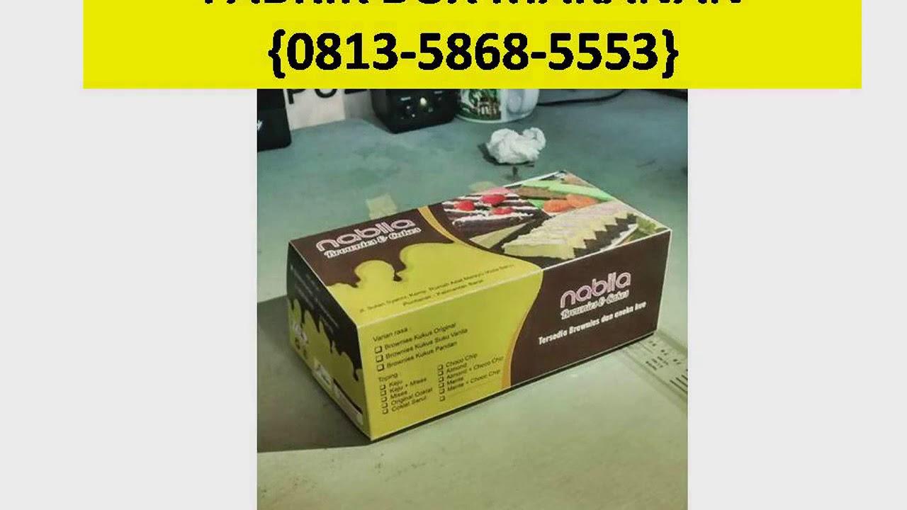 HP/WA 0813-5868-5553 Jual Kotak Kue Cupcake - YouTube
