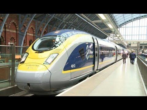 Eurostar présente son nouveau train Siemens pour ses 20 ans